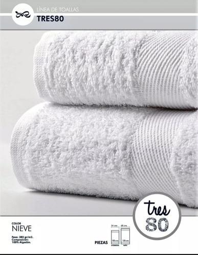oferta toalla blanca ama de casa tres80 100*050 cms