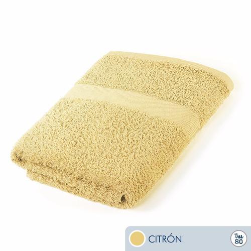oferta toallas ama d casa tres80 intermedia 100x53cms citrón