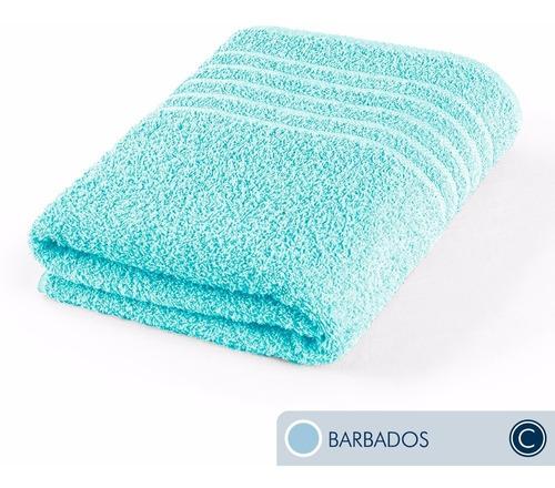 oferta toallas ama de casa classic baño 130x68cm barbados