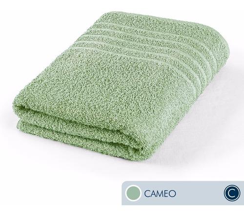 oferta toallas ama de casa classic baño 130x68cm cameo