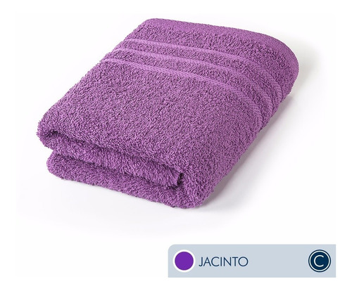 oferta toallas ama de casa classic mano 75x44 cm jacinto