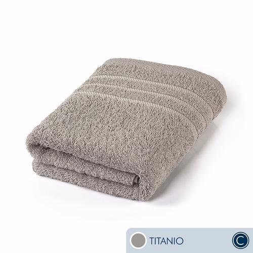oferta toallas ama de casa classic mano 75x44 cms titanio