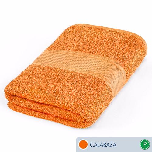 oferta toallas ama de casa premium jumbo 175x89 cms calabaza