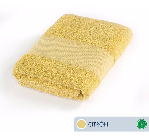 oferta!! toallas ama de casa premium mano 72x44cm citrón