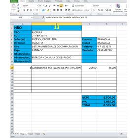 Oferta Todo Chile: Software Integracion Factura Electrónica
