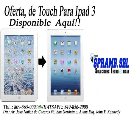 oferta touch ipad note 3
