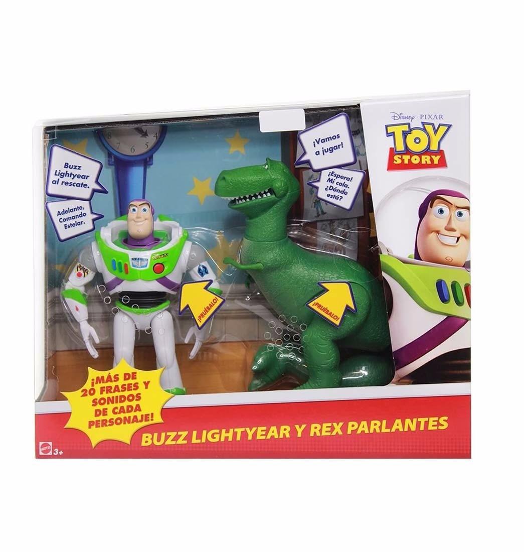 Oferta Toy Story Parlantes Buzz Y Rex Tamaño 16cm - Original - S  139 486c03c72c0