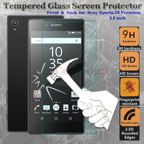 oferta ultra thin sony x z5 premium+mica vidrio templad