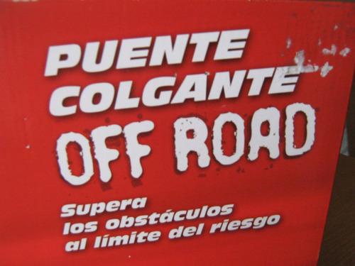 oferta unicas puente colgante off road scalextric, esc.1:32