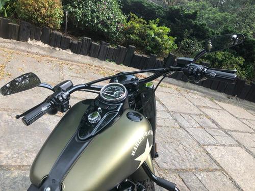 oferta vendo moto harley davidson 2016 flss softail slim s