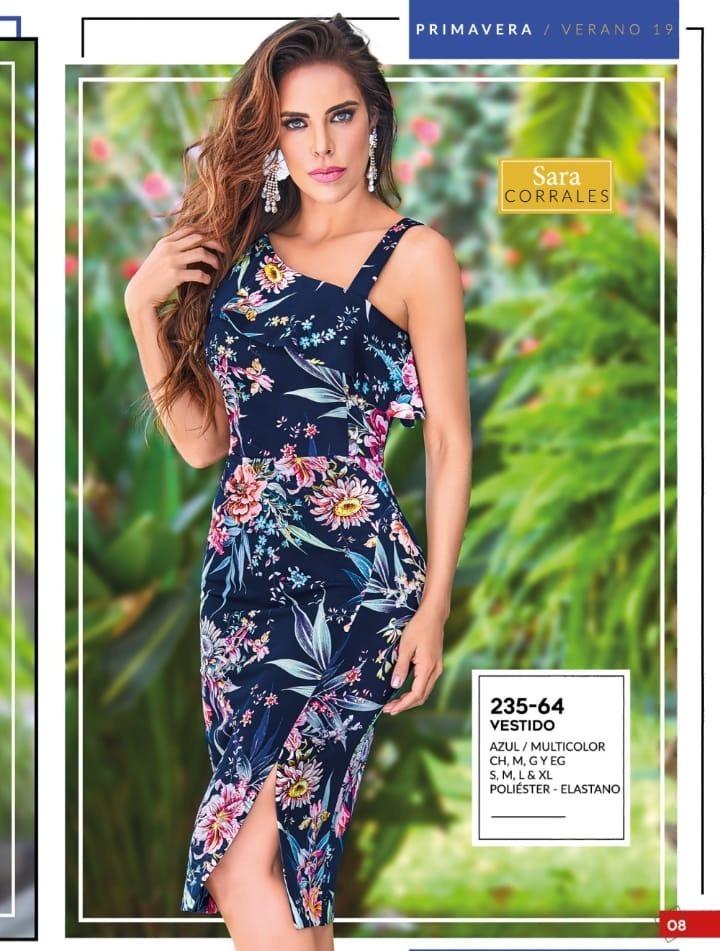 Oferta Vestido Floral Dama Cklass 235 64 Pv 2019