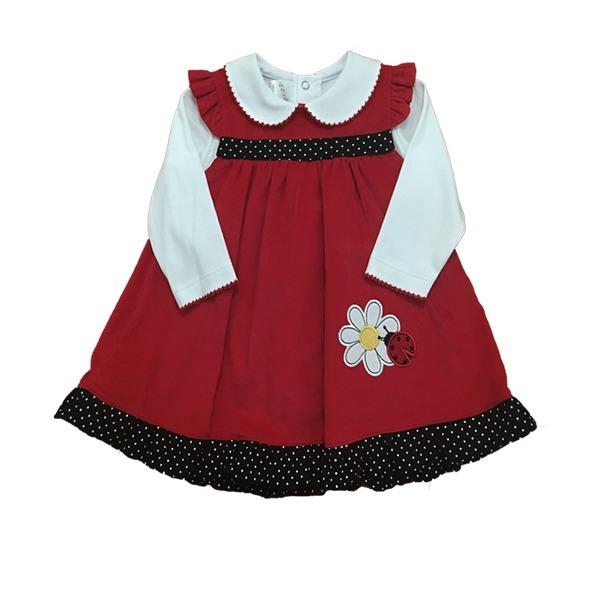 4bbeee44b5242 Oferta Vestidos Para Bebes - S 60 Algodon Pima-babycord - S  60