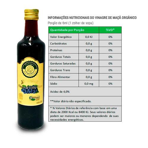 oferta - vinagre orgânico 500 ml + tempero salgante