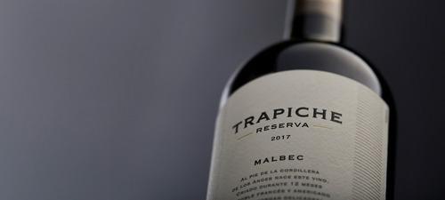 oferta vino trapiche reserva estuche + copa zona norte