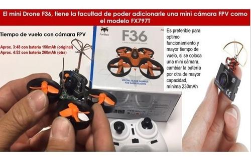 oferta x navidad! mini drone furibee f36 quadcopter 4ch