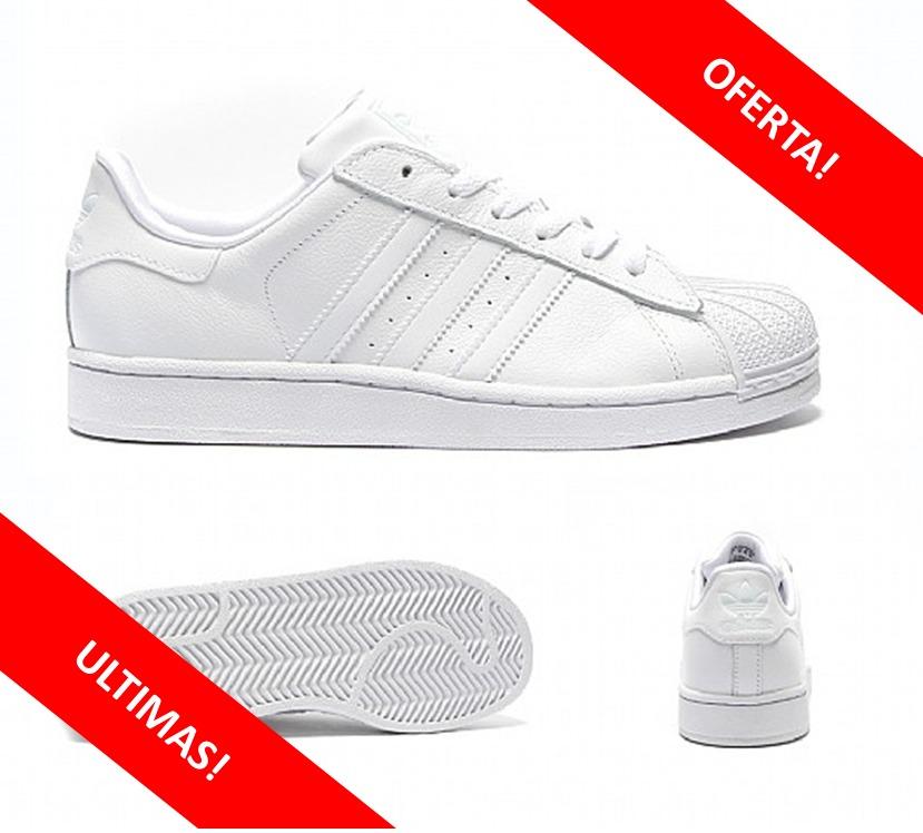 e7946ee2ba0 oferta! zapatillas adidas superstar blancas solo originales! Cargando zoom.