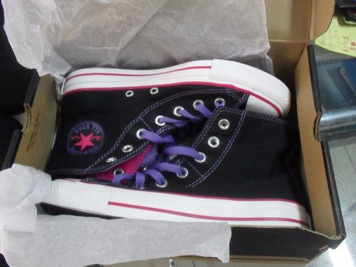 oferta!! zapatillas converse all star nuevas visa/mastercard