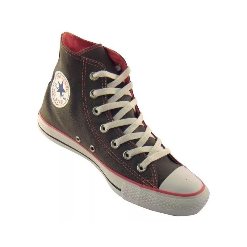 zapatillas converse gris y rosa