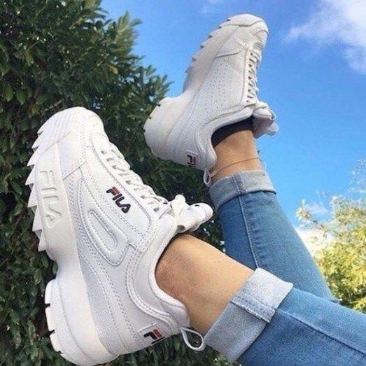 2d190a61 Oferta Zapatos Fila Disruptor Blanco (2019) Tienda Fisica - Bs ...