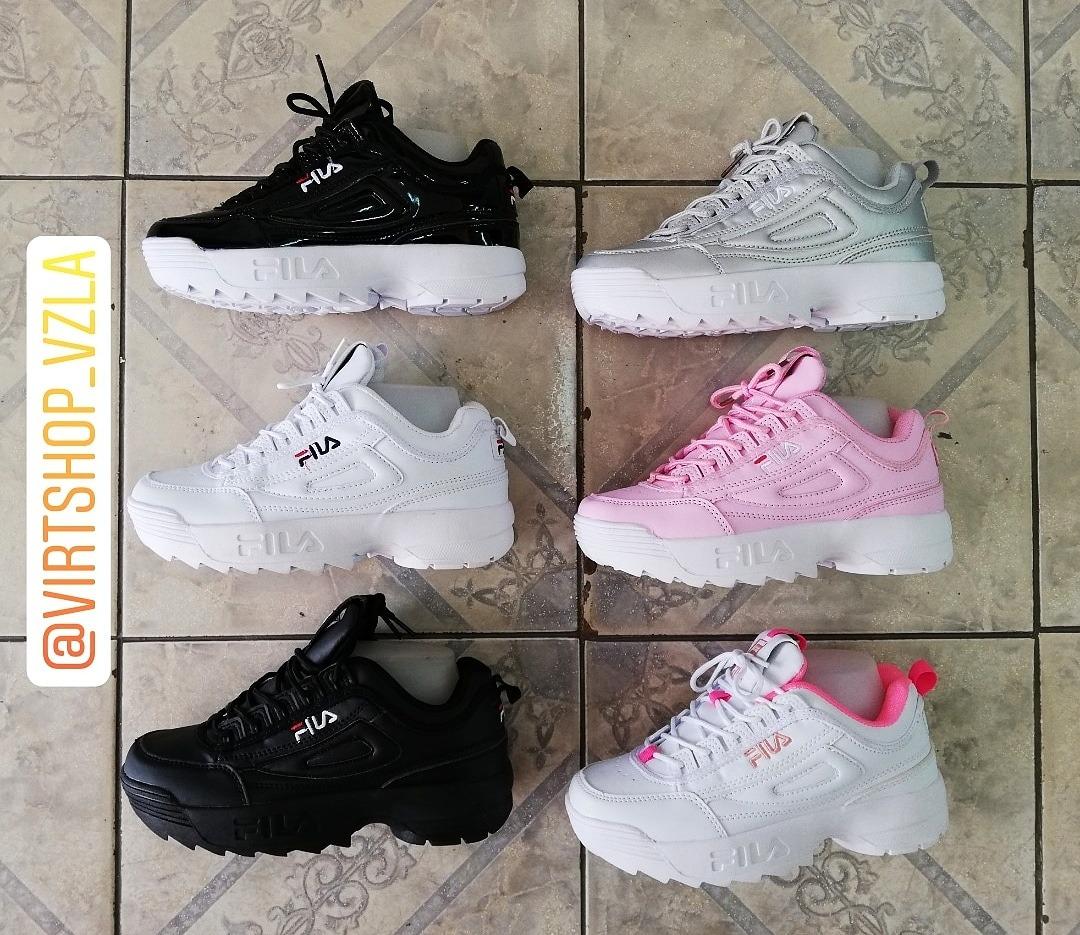 47bc5297 oferta zapatos fila disruptor blanco (2019) tienda fisica. Cargando zoom.