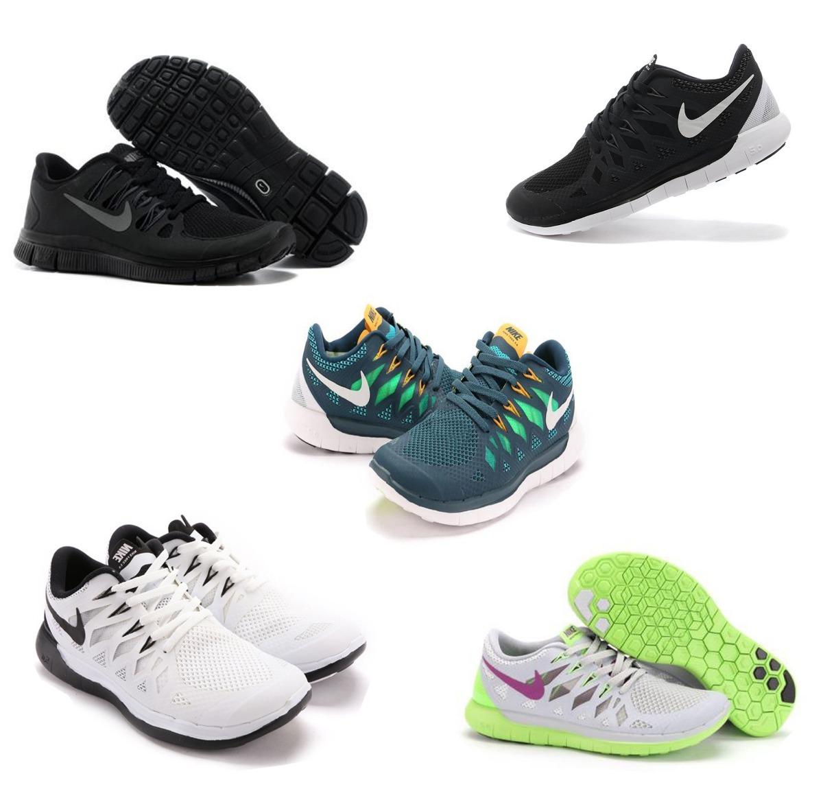 best service 0eb4a a7847 Oferta Zapatos Nike Free, 5.0 Caballero, Dama, 35 A La 42 -