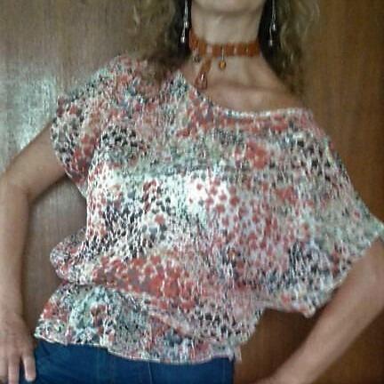 oferta:blusas para damas en chiffon