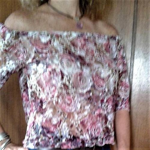 oferta:blusas para damas hombros al descubierto a la moda
