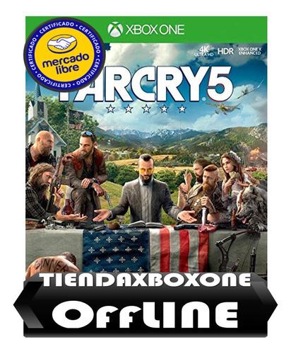 oferta::::farcry 5 xbox one modo original modo offline