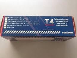 oferta.instalación portero electrico netyer t4 en caba
