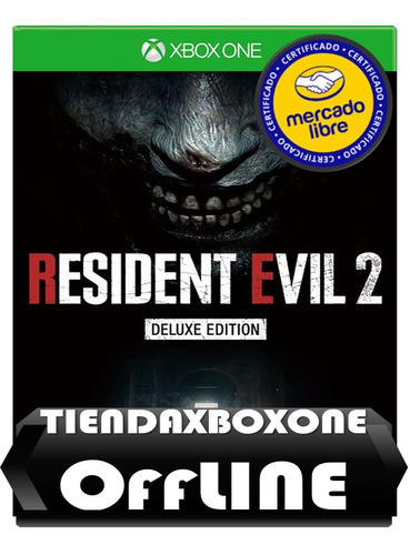 oferta:resident evil 2 deluxe edition xbox one offline