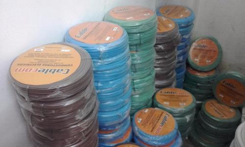 oferta!rollo cable 6 mm ignífugo $499 x 100 mts