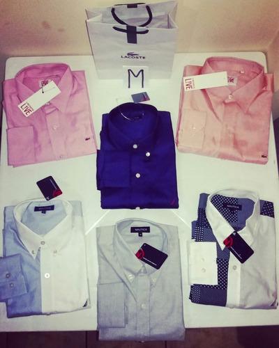 ofertas camisas lacoste, nautica & levis originales  nuevas