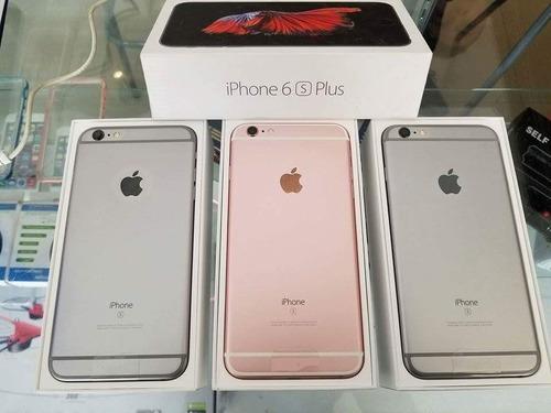 ofertas de apple iphone 6s plus ( unlock factory )de 64gbs