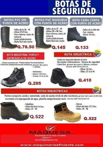 ofertas de botas industriales o dieléctricas
