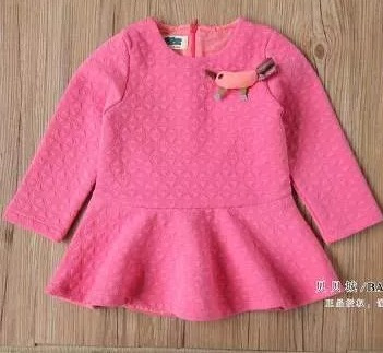oferta!!!vestido para niña fucshia