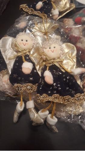 ofertazo!!!! adornos angelitos de navidad