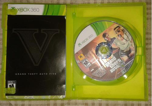 ofertazo, juego gtav xbox360 impecable, en caja y manuales!!