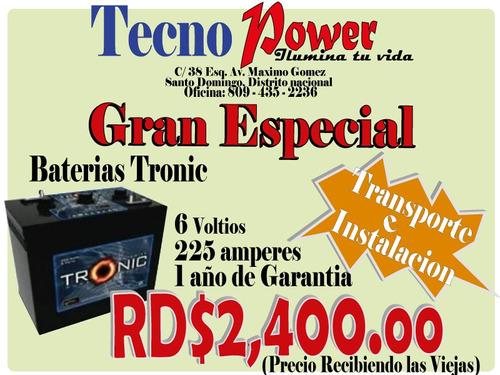 *ofertazoo * inversores y baterias **ventas: 809-422-6535**