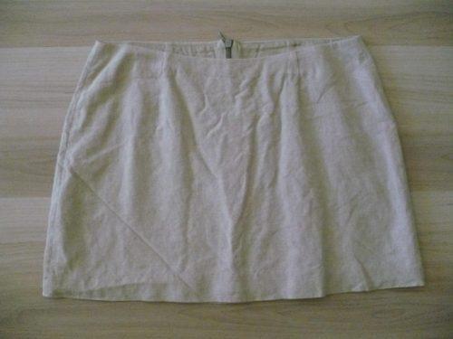 oferton! chocolate!!! minifalda de lino, divina!!!
