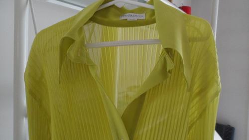 ofertón!!! claudia larreta !!! camisa de mujer !!! preciosa!