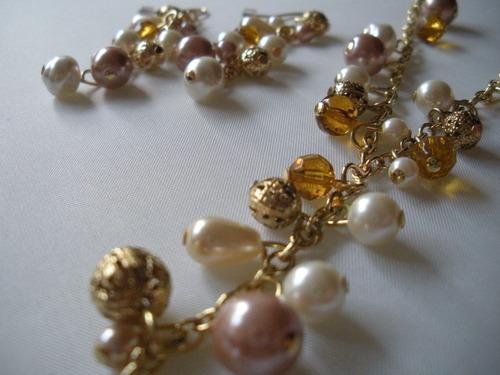 ofertón!! coleccion fantasía collar + aros