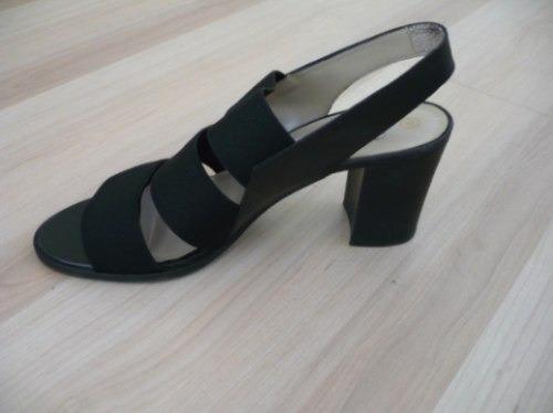 ofertón! sandalias negras marca ladybug !!! divinas!!!
