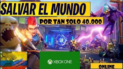oferton!! solo *xbox one* ¡fortnite salvar el mundo!! online