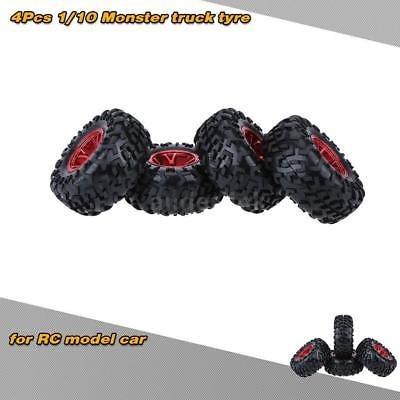 off-road m onster neumáticos del carro 4pcs/set 1/10 rc