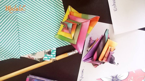 off taller online espirales modulares -  origami