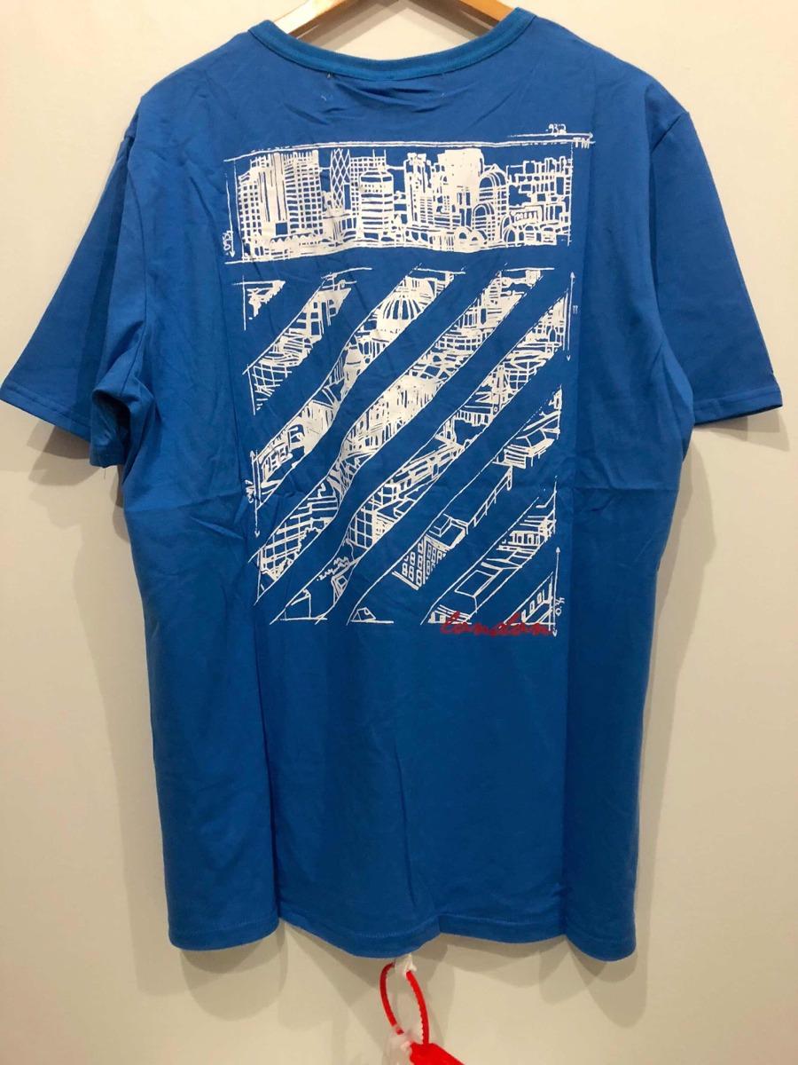 Off-white Playera London Blue -   1 8019b83a66b5f