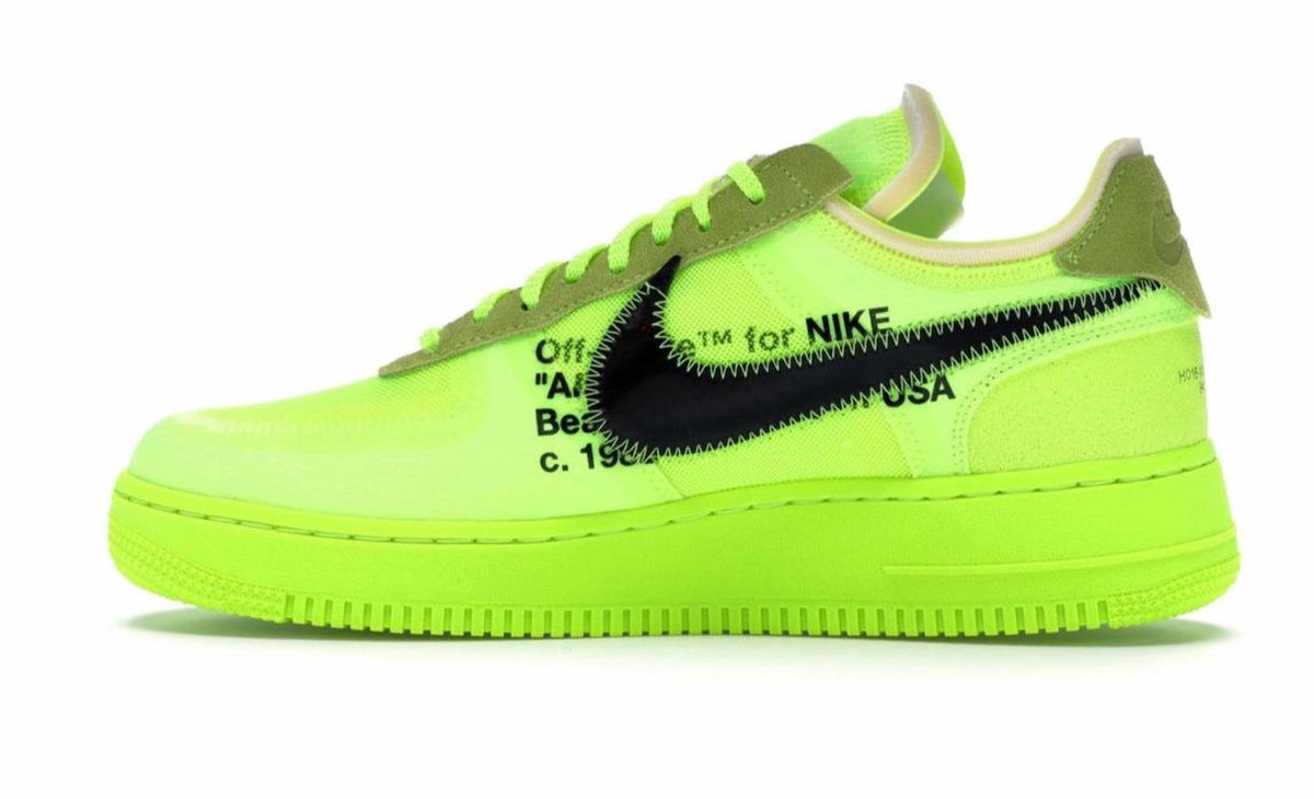 X Caja Volt White Off Nike 1 En Air Force shxBtrQdC