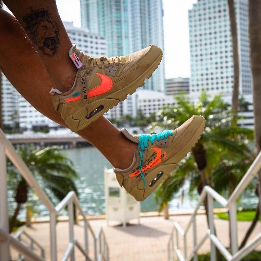 Off White x Nike Air Max 90 Hombre y Mujer