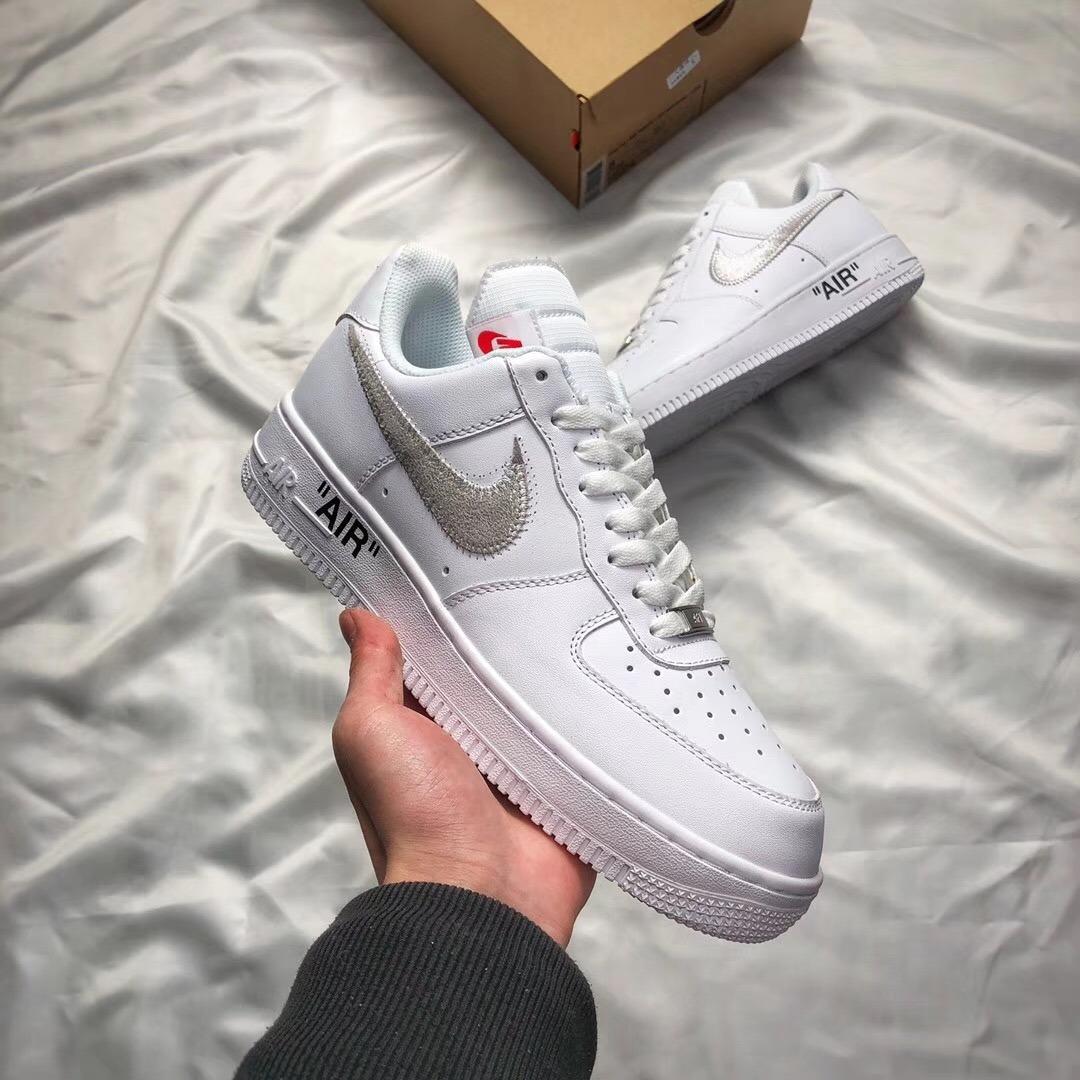 reputable site 9a824 2b11c 1 Blanco De Zapatos Nike Y Air Pareja Low Off Force White TX