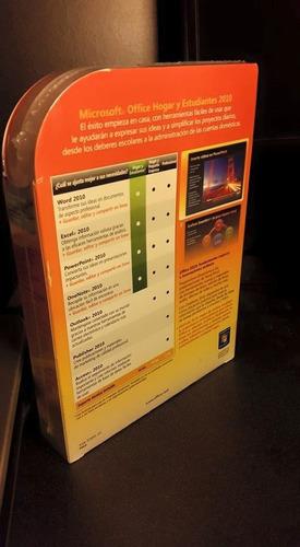 office 2010 nuevo en caja para 3 equipos